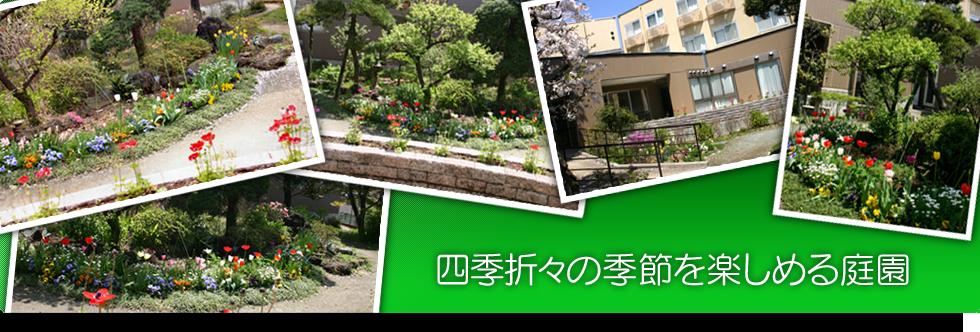 四季折々の季節を楽しめる庭園